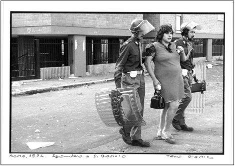 Sgombero a S. Basilio 1974 Tano D'AMICO