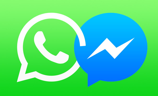 WhatsApp-Messenger-vs.-Facebook-Messenger